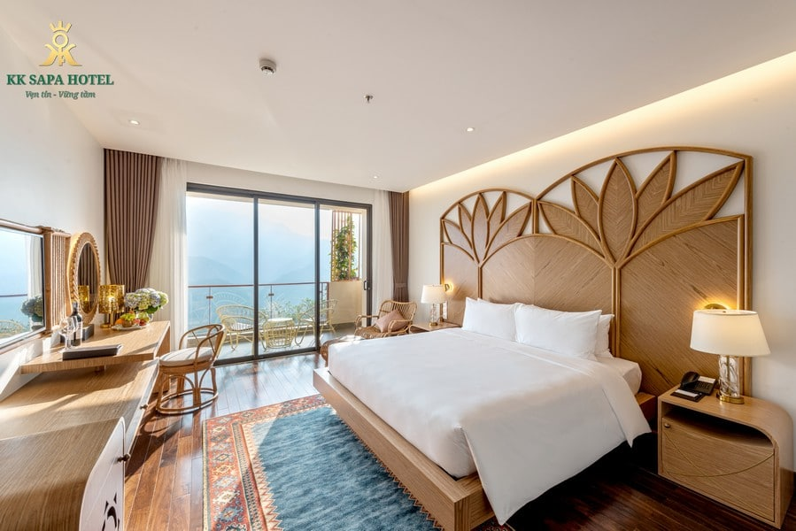 Phòng nghỉ cao cấp của khách sạn KK Sapa