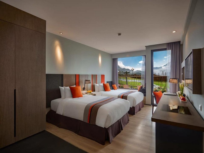 Phòng nghỉ cao cấp tại khách sạn Pao's Sapa