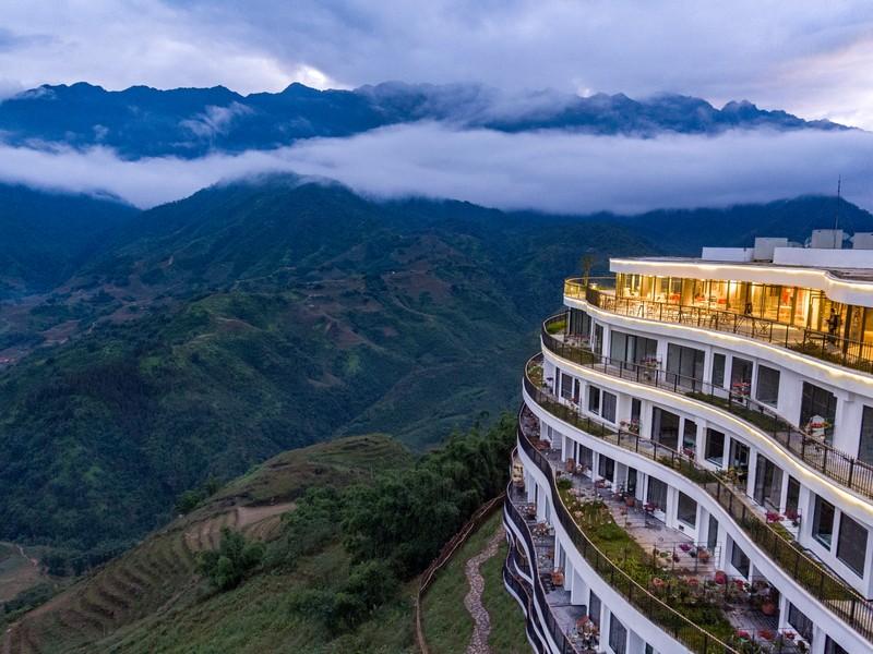 View từ khách sạn Pao Sapa