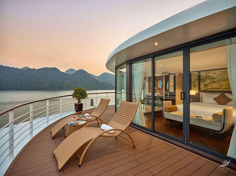 Phòng Owner Suite Du thuyền Capella