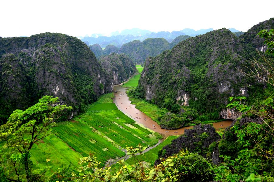 Non nước Tam Cốc, Ninh Bình