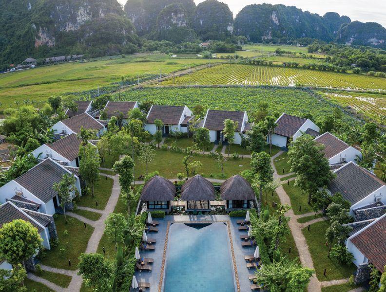 Không gian khu nghỉ dưỡng Aravinda Ninh Bình