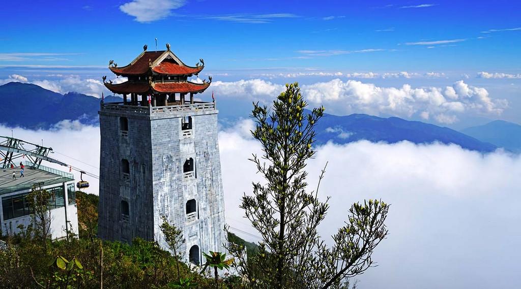 Bảo Tháp trong quần thể tâm linh Fansipan Legend
