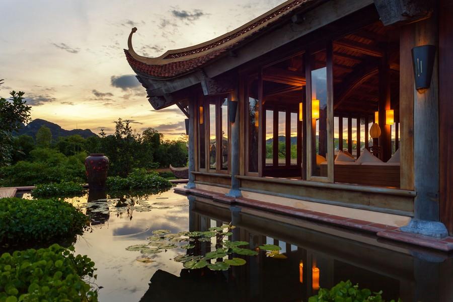 Từng góc nhỏ mang điểm nhấn kiến trúc Việt Nam truyền thống
