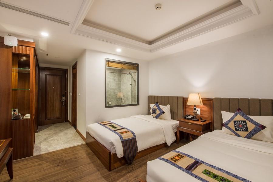 Phòng nghỉ Superior khách sạn Bamboo Sapa