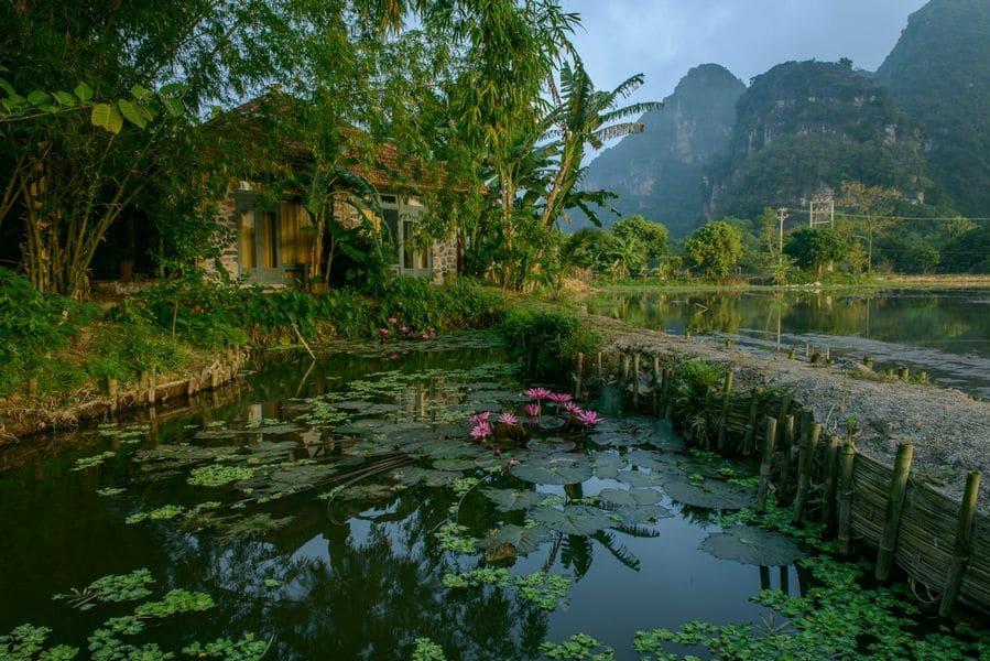 Không gian văn hóa truyền thống Bắc Bộ được đưa vào Tam Cốc Garden resort