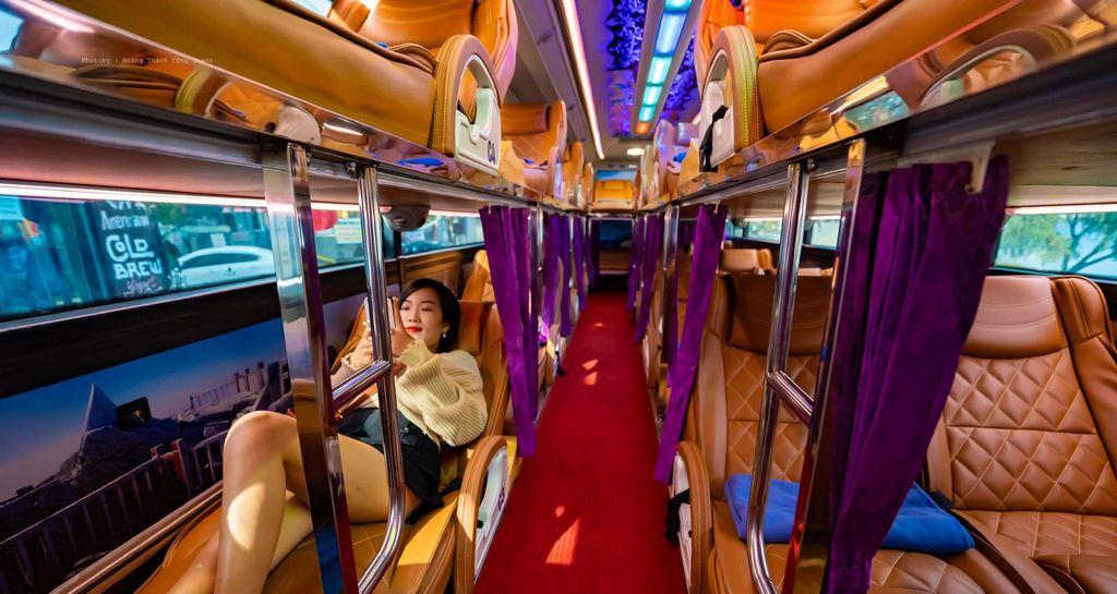 Xe giường nằm đôi Interbusline từ Hà Nội đi Sapa, riêng tư và thoải mái