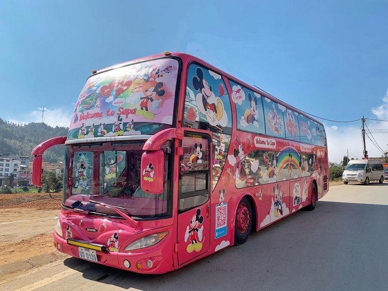 Xe cabin đôi riêng biệt Interbusline Valentine Hà Nội - Sapa
