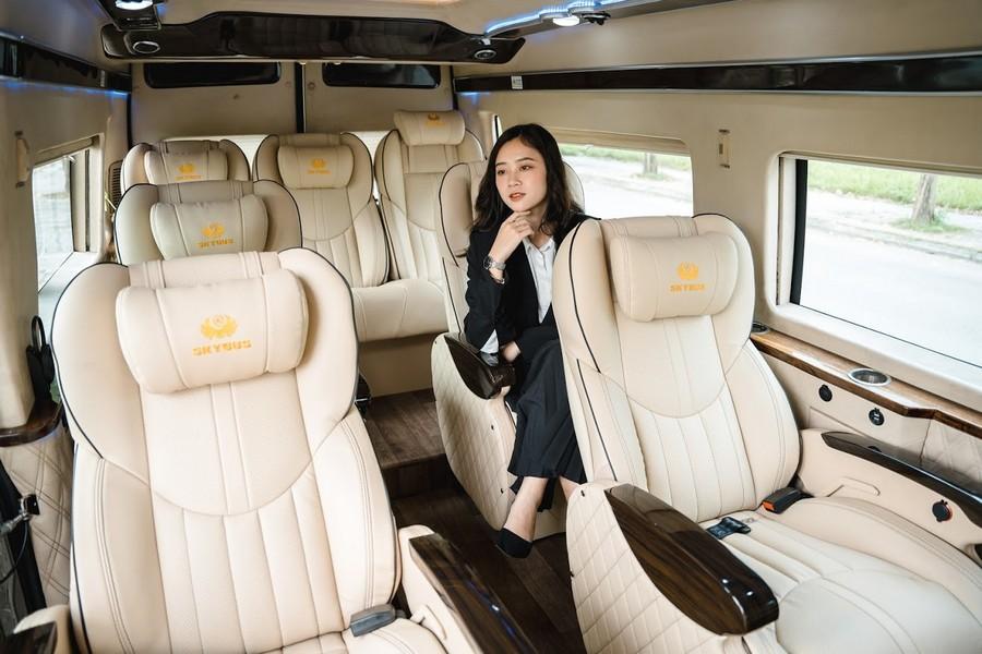 Tiện nghi của dòng xe limousine