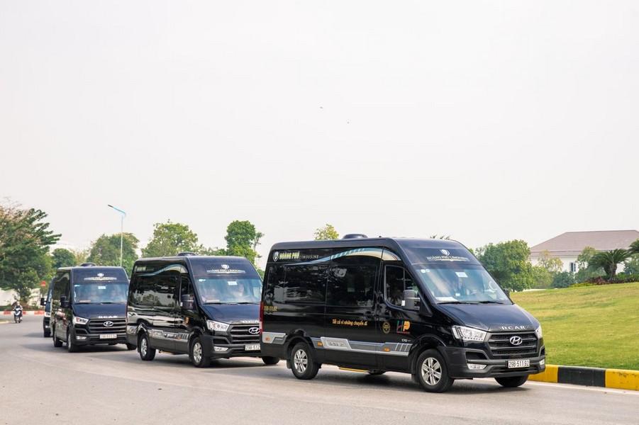 Xe limousine Hoàng Phú Hà Nội - Sapa