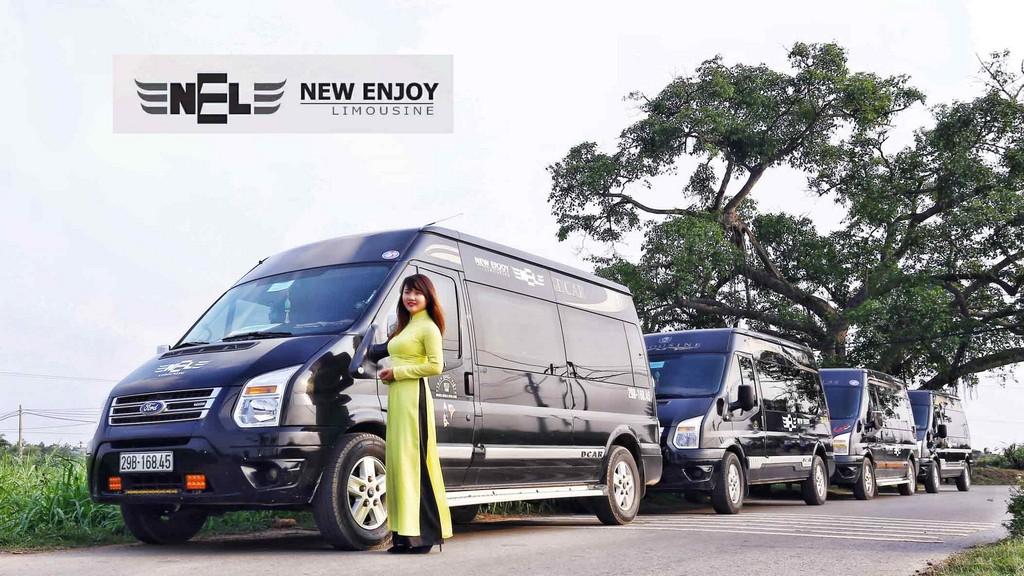 Xe limousine New Enjoy từ Hà Nội đi Sapa