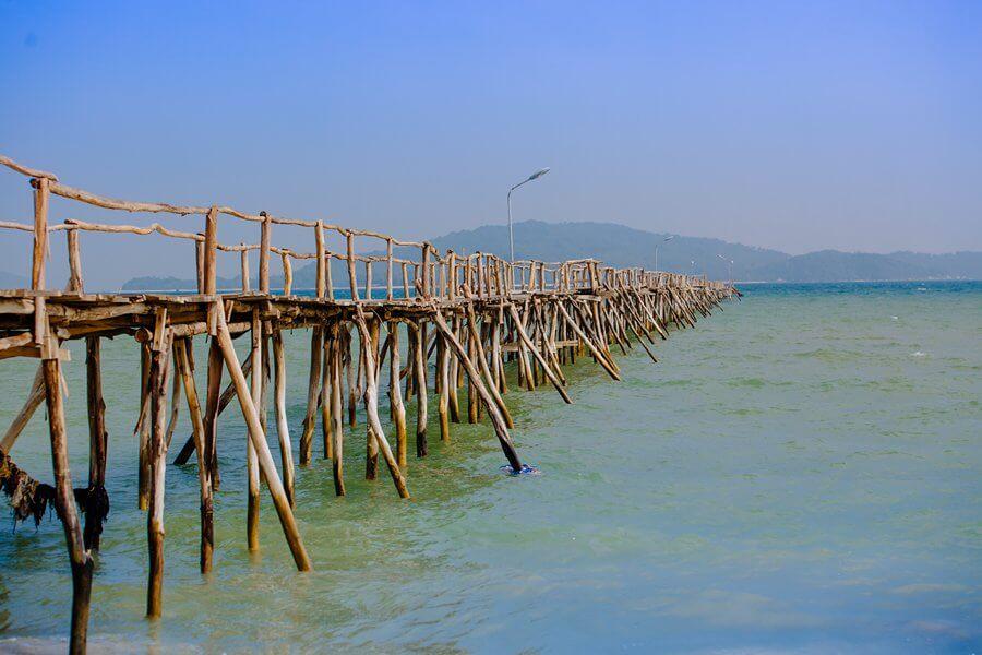 Cầu gỗ, điểm check in ấn tượng