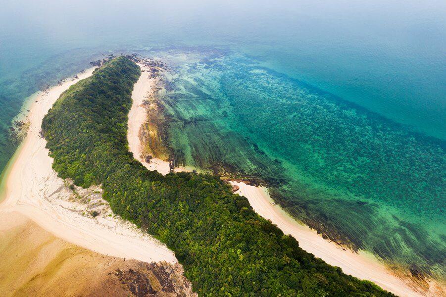 Đảo Cá Chép, một trong những hòn đảo trong quần thể Đảo Cô Tô