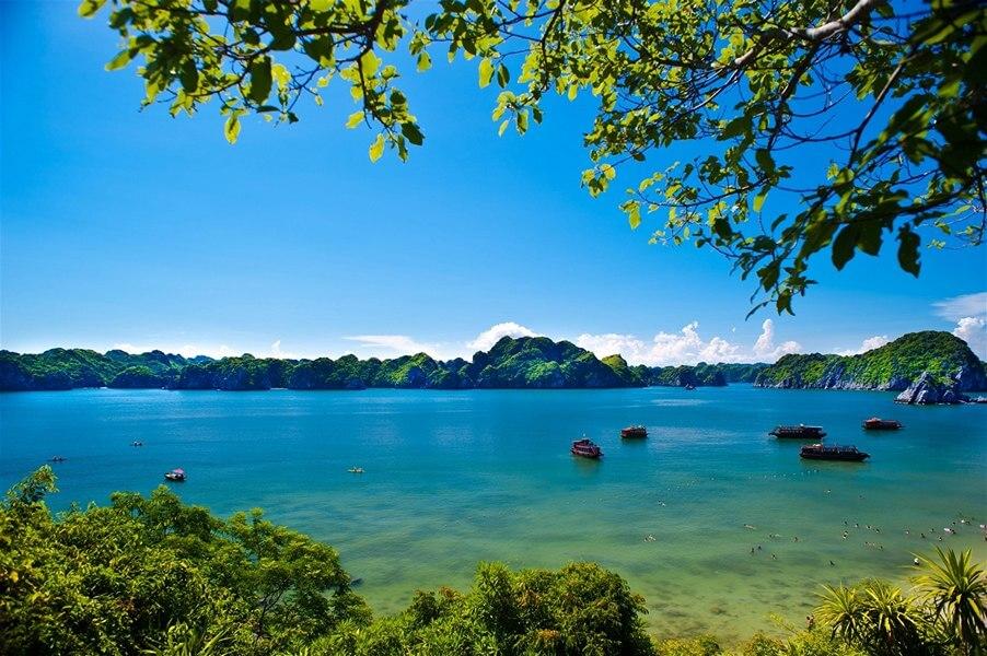 Vẻ đẹp Vịnh Lan Hạ ngày nắng