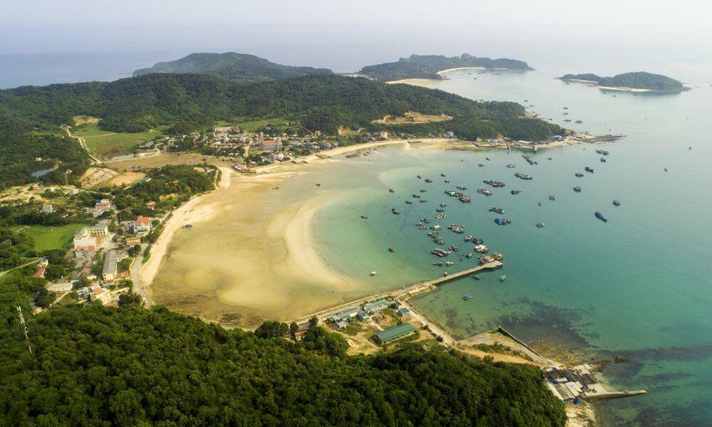 Đảo Thanh Lân, xã đảo thuộc huyện Cô Tô