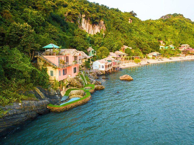 Mini resort trên Đảo Cát Bà