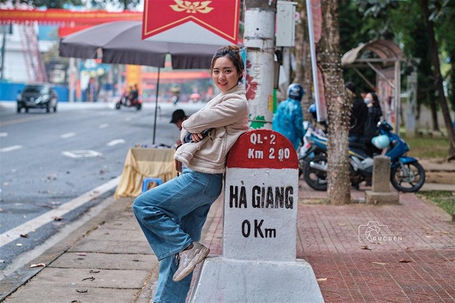 Km0 Hà Giang, điểm check in xuất phát hành trình