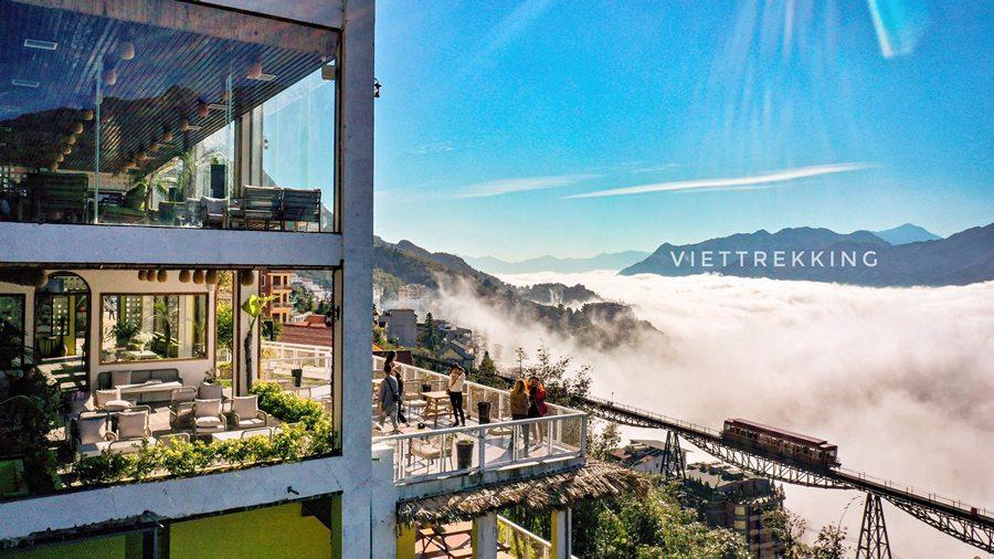 Homestay nhìn ra tàu hỏa leo núi Mường Hoa
