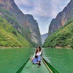 Đi thuyền trên sông Nho Quế